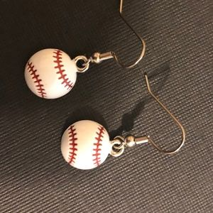 Baseball Fan Earrings